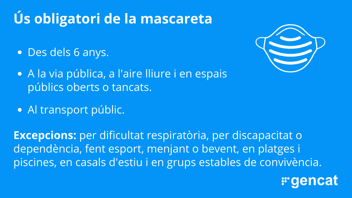 us obligatori mascareta